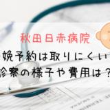 秋田日赤病院 分娩予約は困難?里帰り出産の検診の内容